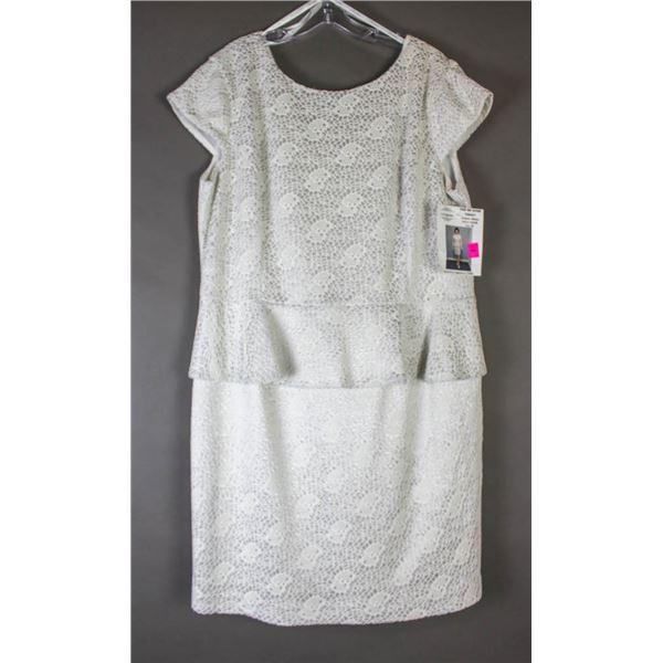 BONE LACE NUEVA DESIGNER BRIDAL/ FORMAL DRESS;