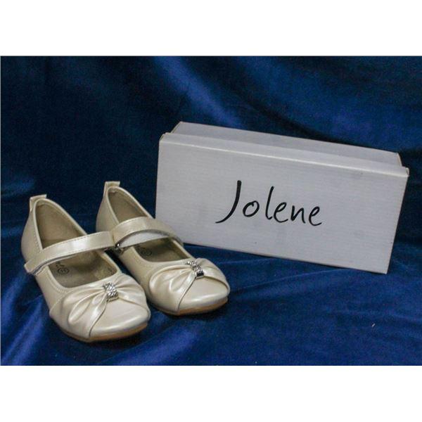IVORY JOLENE CHILDREN'S FORMAL BALLET SLIPPER SHOES