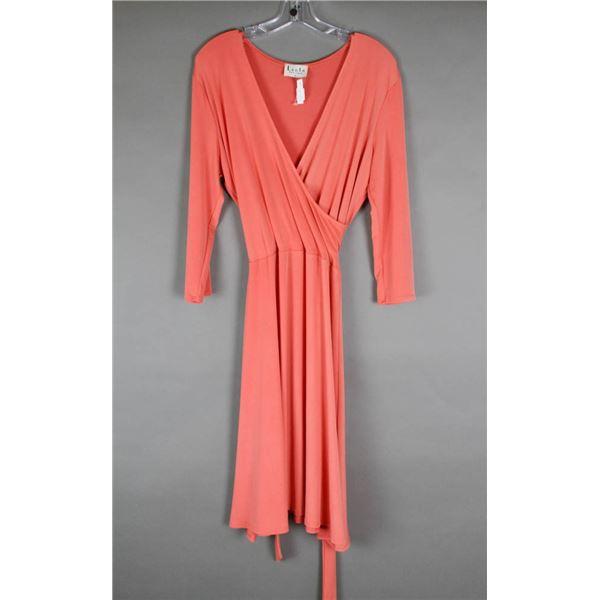 CORAL LEOTA NEW YORK FORMAL DESIGNER DRESS;
