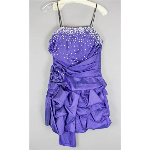ROYAL BLUE JOLENE FORMAL DESIGNER DRESS;