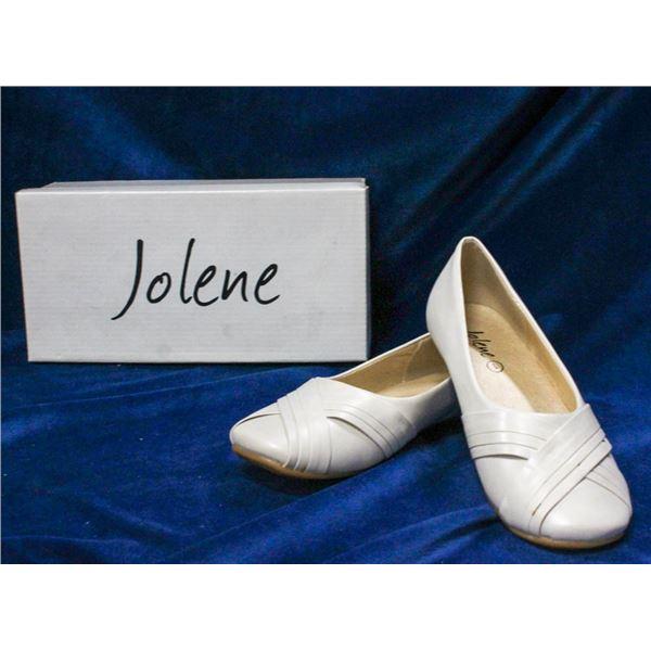 IVORY JOLENE CHILDREN'S BRIDAL BALLET SHOES;