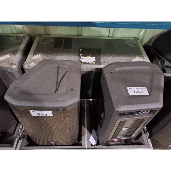 PAIR OF JBL PRX612M CROWN PROFESSIONAL PRX SERIES POWERED LOUDSPEAKERS