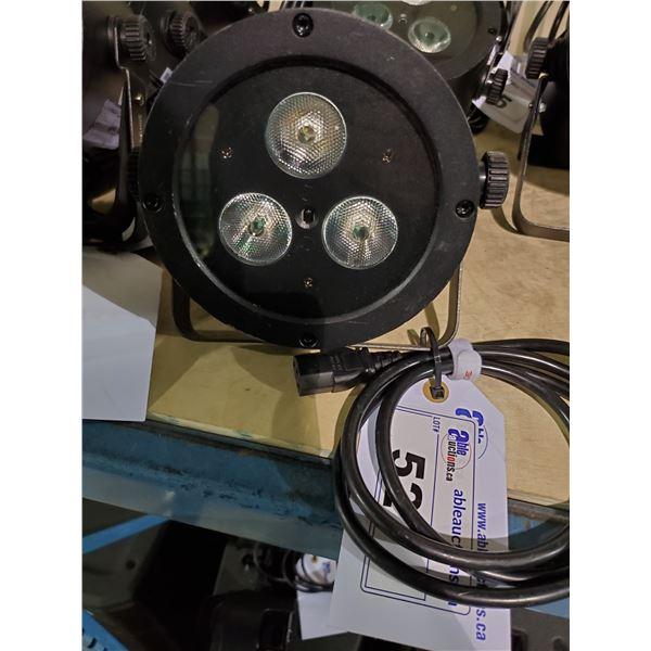 CHAUVET DJ SLIMPAR HEX3 IRC 3 LED PAR PROFESSIONAL STAGE LIGHT