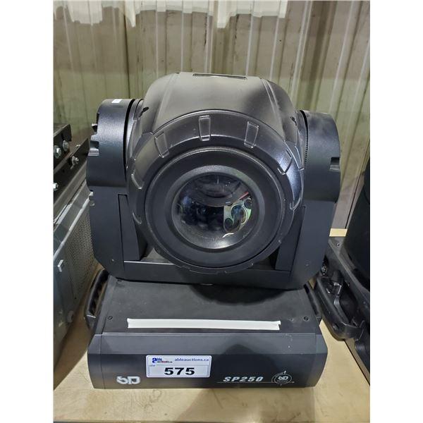 SURGE SP250 SERIES PROGRAMMABLE PROFESSIONAL MULTI SPOT LIGHT