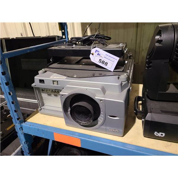 SANYO PLC-FX60A LARGE SCALE PROJECTOR WITH ROOF MOUNT SYSTEM
