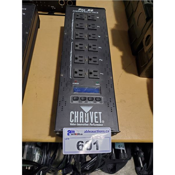 CHAUVET PRO-D6 DIMMER / RELAY POWER PACK