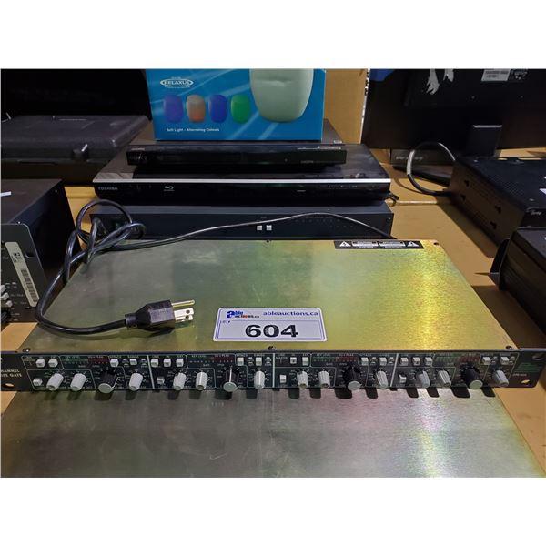 BSS DPR-504 4 CHANNEL RACK MOUNTED NOISE GATE
