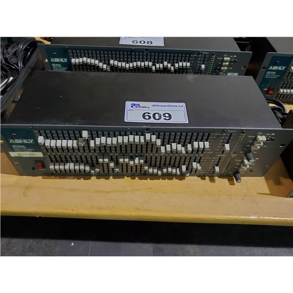 ASHLY 3102 GQX SERIES STEREO THIRD OCTAVE RACK MOUNTED GRAPHIC EQUALIZER