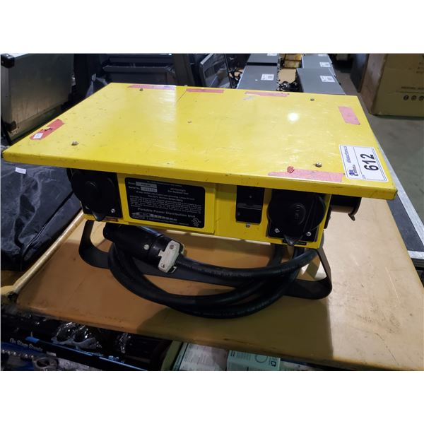 CEP 6506-GU OUTDOOR PORTABLE POWER DISTRIBUTION UNIT WITH CONNECTOR CABLE