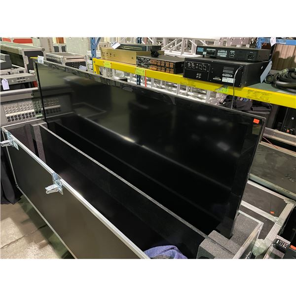 "SHARP 80"" LC-80LE632U LCD TELEVISION ( NO REMOTE, NO STAND HAS WALL MOUNT BRACKET ON BACK )"