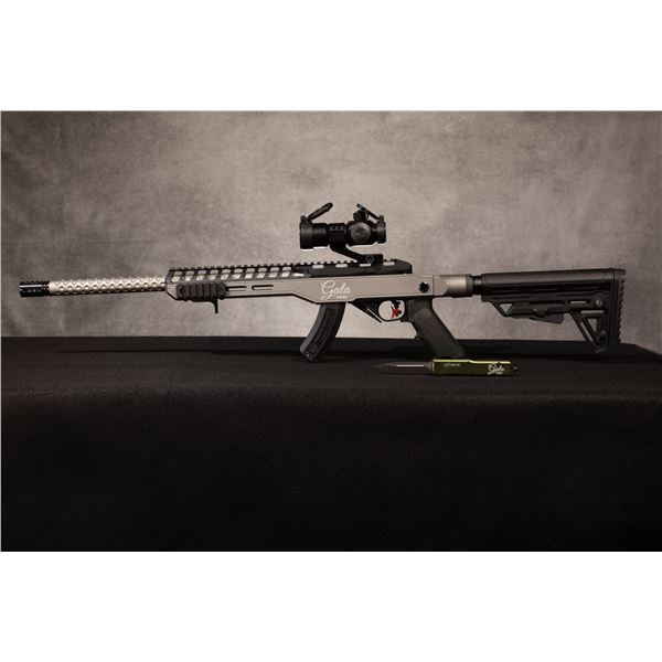 """EXTREME TACTICAL COMPONENTS: """"SPECIAL EDITION DSCF GALA"""" RIFLE, KNIFE, AND CASE COMBO"""