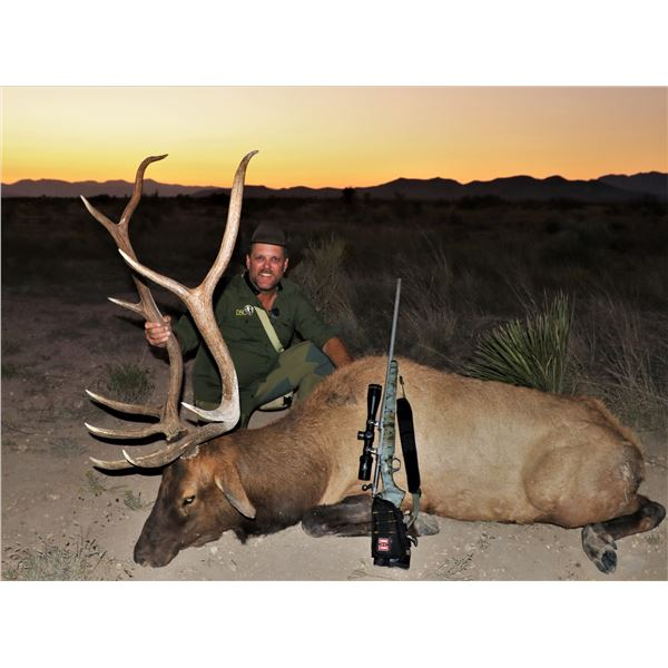 WILDLIFE SYSTEMS: 4-DAY, 5-NIGHT HUNT FOR FREE RANGE ROCKY MOUNTAIN ELK IN WEST TEXAS
