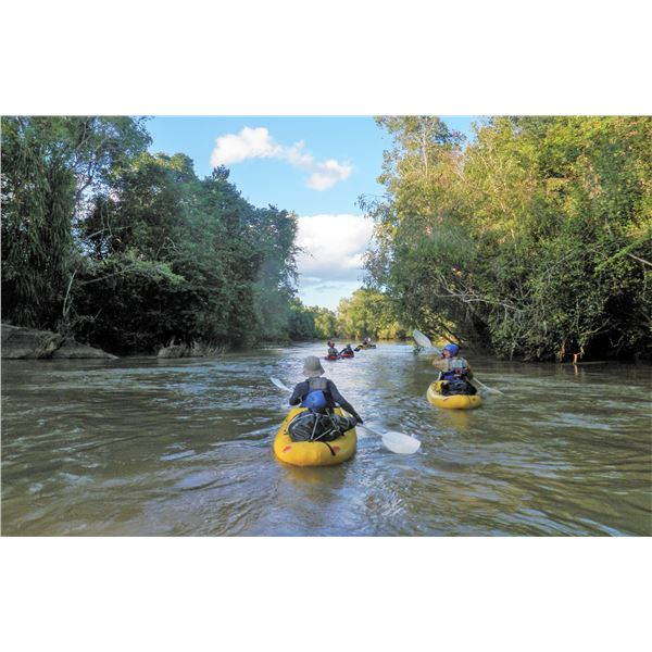 7 DAY LUGENDA RIVER ADVENTURE FOR EIGHT PEOPLE IN NORTHERN MOZAMBIQUE / NIASSA REGION