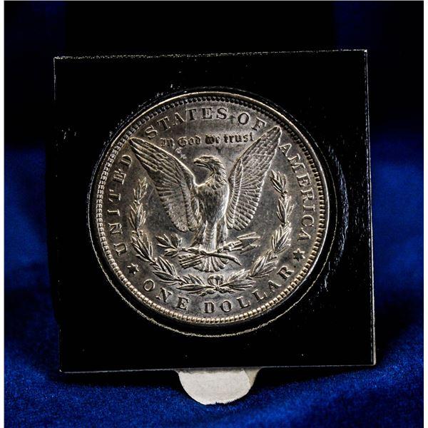 1889 USA SILVER MORGAN DOLLAR VERY FAR DATE VARIET