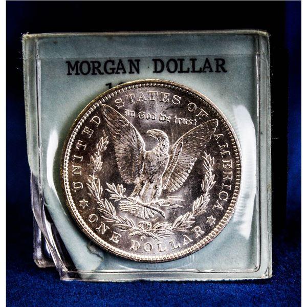 1904O USA SILVER MORGAN DOLLAR, GEM UNCIRCULATED