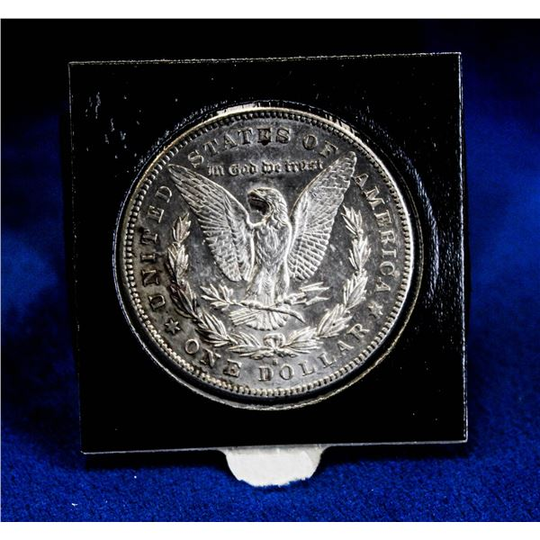 1878S USA SILVER MORGAN DOLLAR. 1ST YEAR OF ISSUE