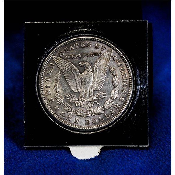 1885 USA SILVER MORGAN DOLLAR DOUBLED 5 VARIETY