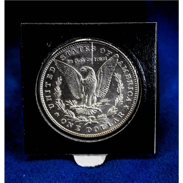 1886 USA SILVER MORGAN DOLLAR DOUBLE CLOSED 6