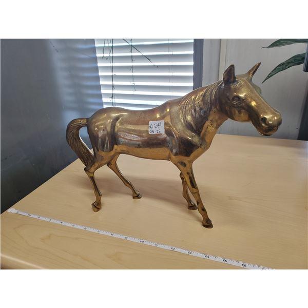 """11"""" BRASS HORSE"""