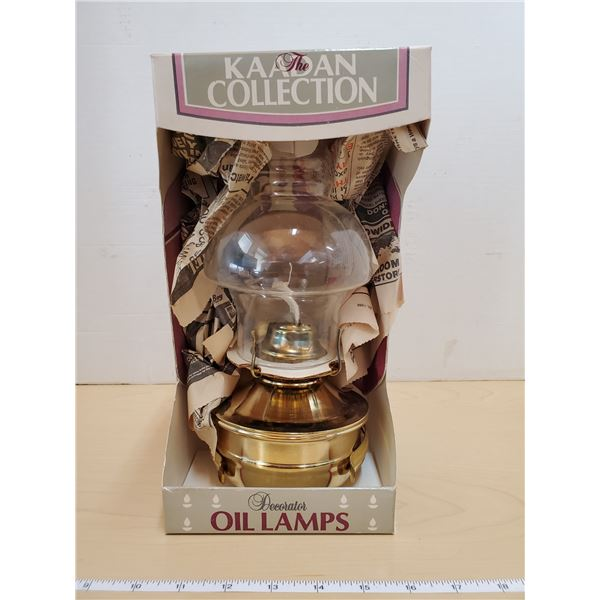 1 KAKDAN COLLECTION OIL LAMP