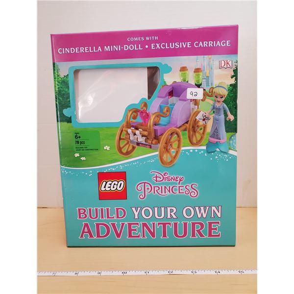 CINDERELLA LEGO W/ BOOK