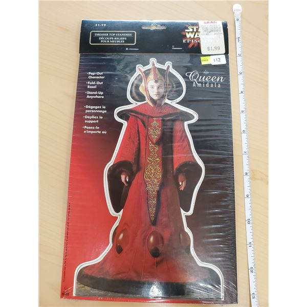 QUEEN AMIDALA POP-OUT CHARACTER