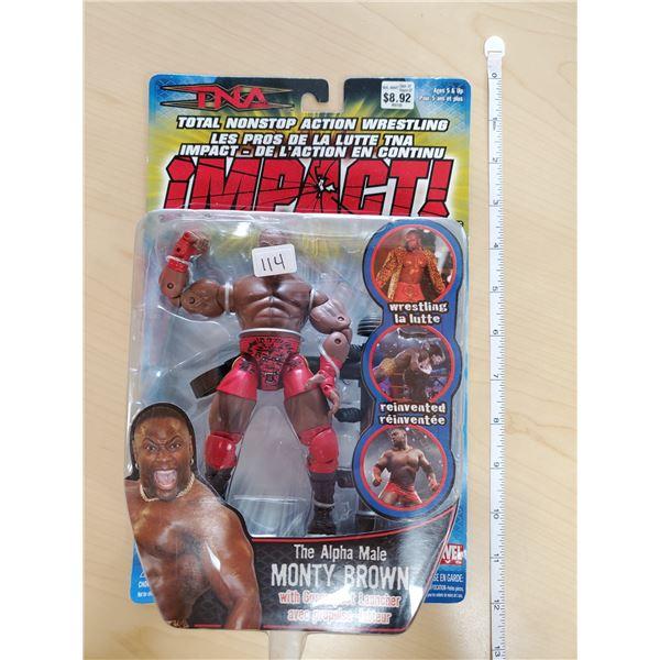TNA IMPACT MONTY BROWN