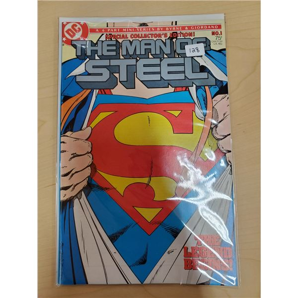 THE MAN OF STEEL NO. 1