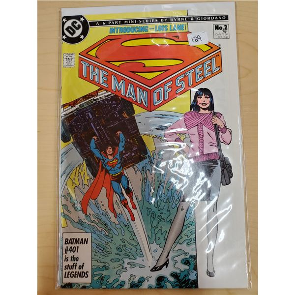 THE MAN OF STEEL NO. 2