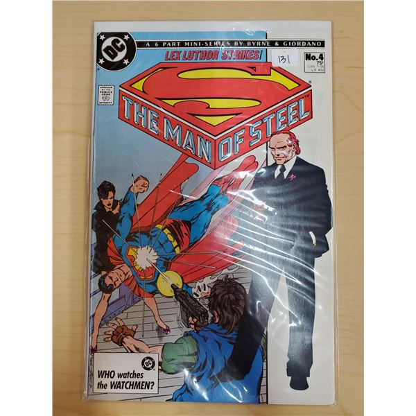 THE MAN OF STEEL NO. 4