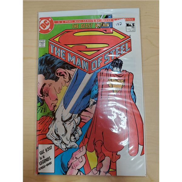 THE MAN OF STEEL NO. 5