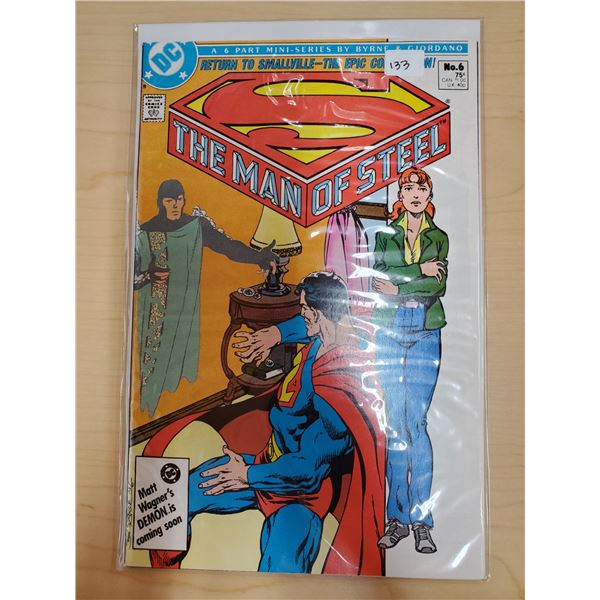 THE MAN OF STEEL NO. 6