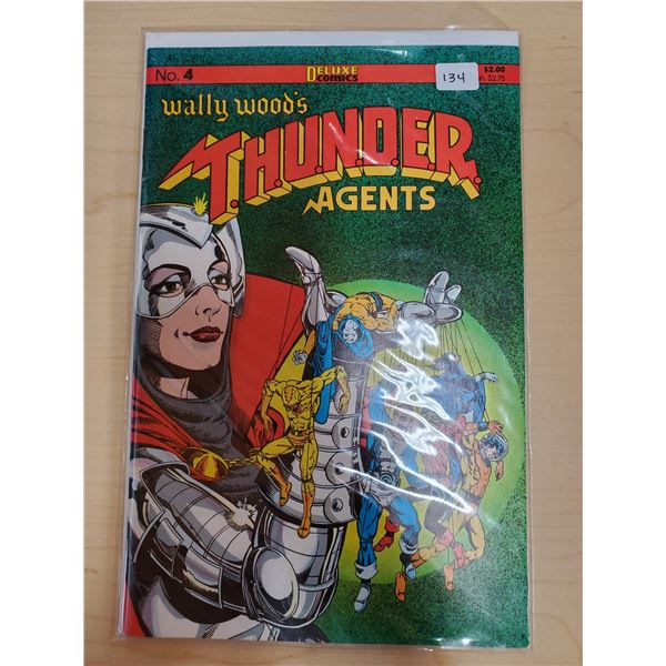 THUNDER AGENTS NO. 4