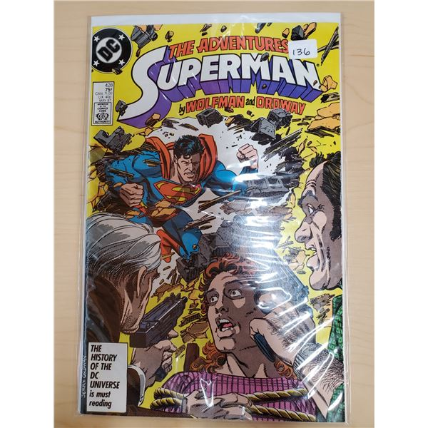 THE ADVENTURES OF SUPERMAN MAY 1987 NO. 428