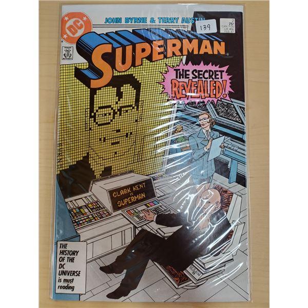 SUPERMAN FEBRUARY 1987 NO. 2