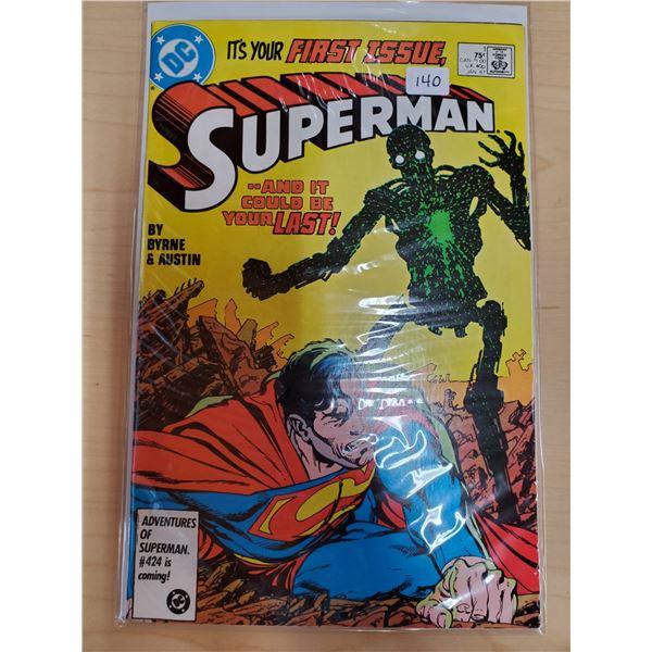 SUPERMAN JANUARY 1987 NO. 1