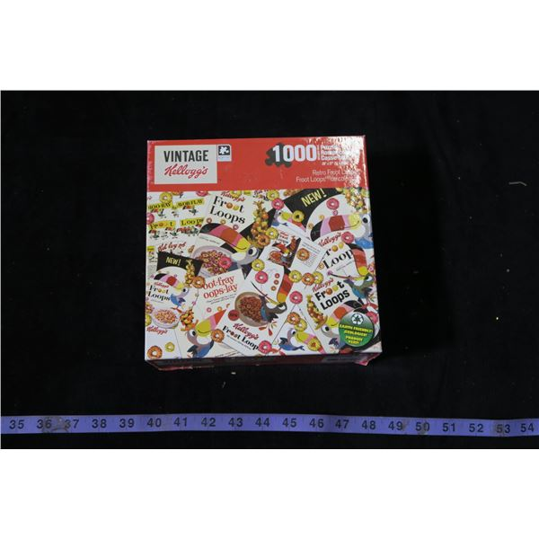 Retro Style Froot Loops Jigsaw Puzzle
