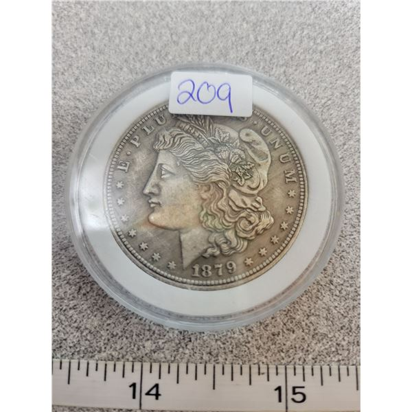 REPRO Morgan Dollar - 1879