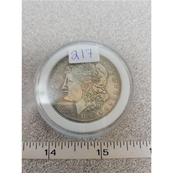 REPRO Morgan Dollar - 1887