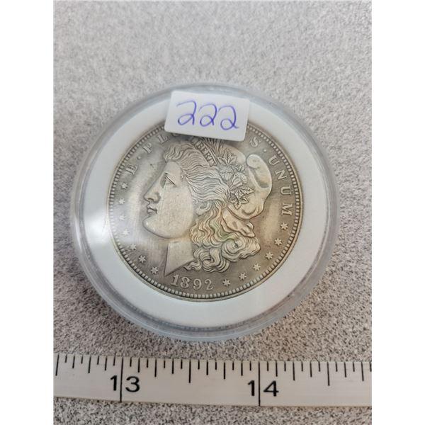 REPRO Morgan Dollar - 1892