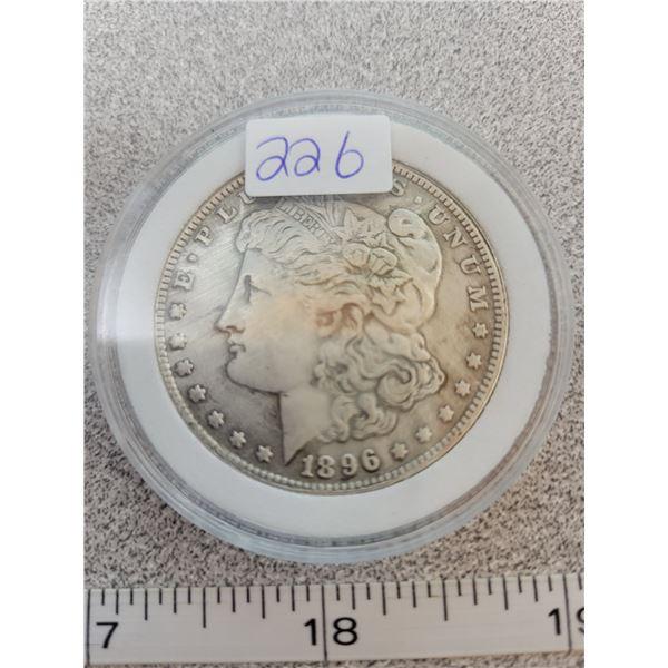 REPRO Morgan Dollar - 1896