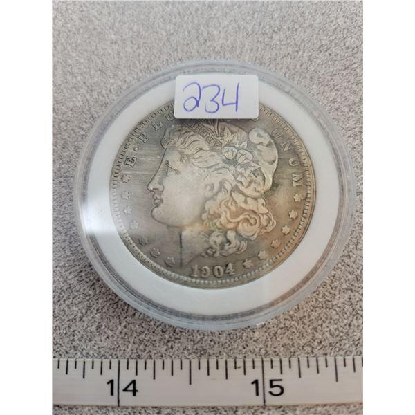 REPRO Morgan Dollar - 1904