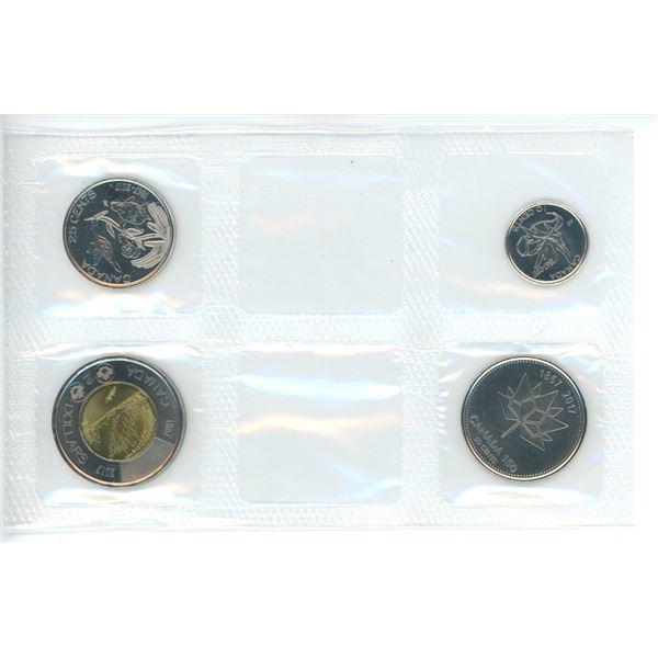 2017 Comemorative Canadian Coin Set - 4 piece