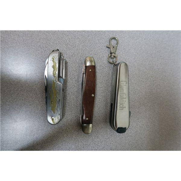 3 X Pocket Multitools Glenfiddich
