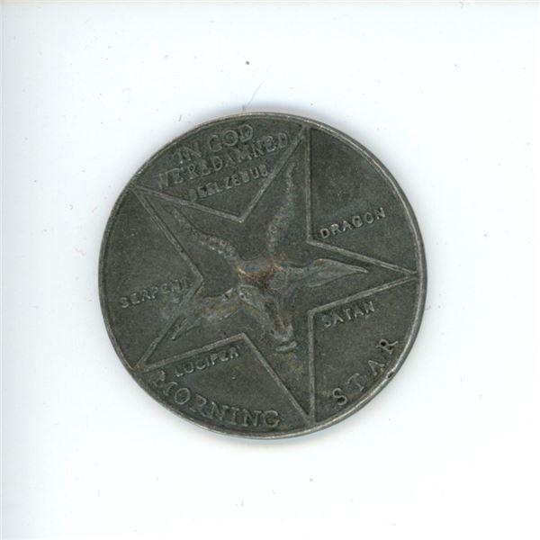 Novelty Satanic Token/Coin