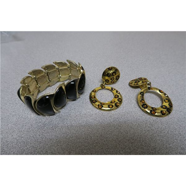 Bracelet and Earings