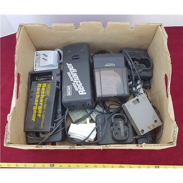 Lot of Chargers & Timers & Remotes
