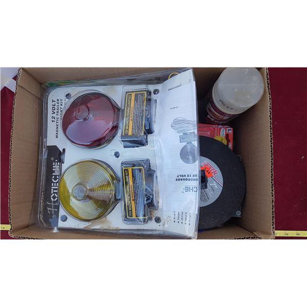 Trailer Light Kit & Misc. Garage Items