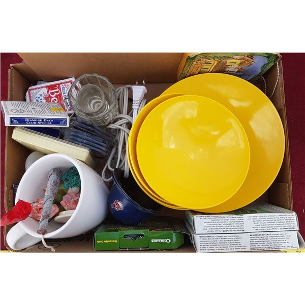 Yellow Dishes & Misc. Items