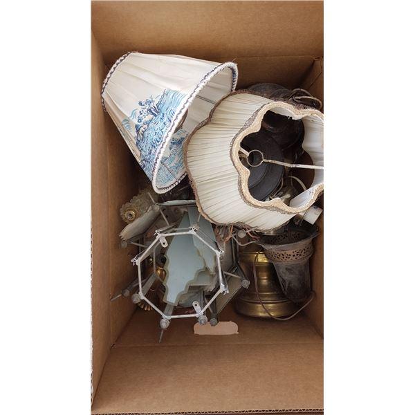 Vintage Electric Lamp Parts